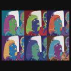 Warhol Girl Knockoff by arline wagner
