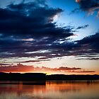 Lake Burley Griffin Sunset by Sam Ilic
