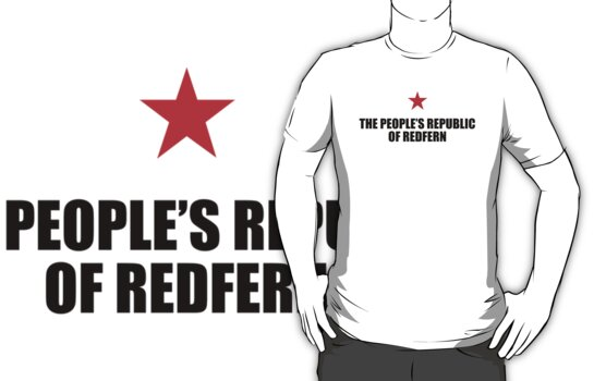 People's Republic of Redfern (Black) by PJ Collins