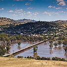 Murrumbidgee River In Flood by rudolfh