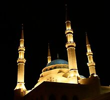 Mohamed al-Amin Mosque in Beirut, Lebanon by sccaldwell
