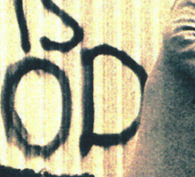 Clapton is God Sticker