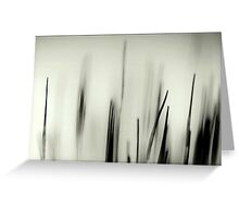 Abstract Moss Greeting Card