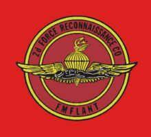 Marine 2nd Force Recon Emblem by Walter Colvin
