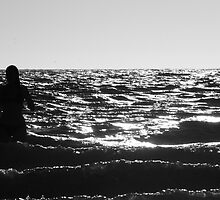 Rising from the waves by KarynL