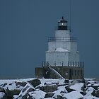 Manitowac Lighthouse by eaglewatcher4