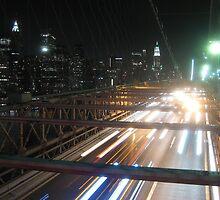 The Brooklyn Bridge, New York by Ian Bracey