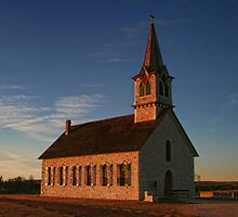 The Old Rock Church by Susan Russell