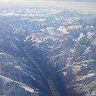 Alps from the Air 2 by JaneMerson