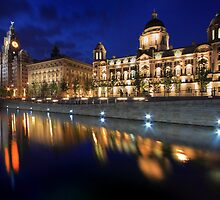 Graceful reflection, Liverpool by Ian Moran