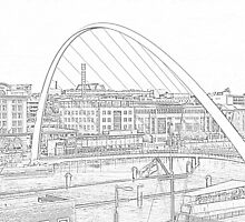 Sketched Tyne by skddigital