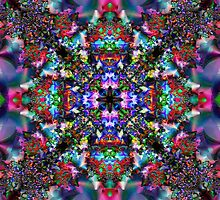 Multi-Fractal-Colour by Hugh Fathers