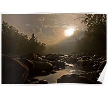 Sunrise on the Pemi @ Loon Mountain Poster