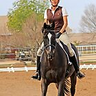 Dressage Rider by Sue  Cullumber
