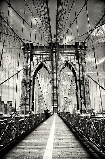 Brooklyn Bridge - New York City by Dilshara Hill
