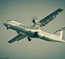 Air Botswana on Finals by Paul Lindenberg