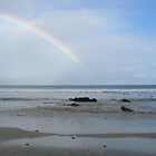 Waratah Beach Rainbow by marijkasworld
