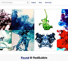 Ink and Water - 14 December 2010 by The RedBubble Homepage