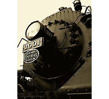 New York Central 3001 4-8-2  # 4...Heavy Metal Thunder..Forged on anvils of steel with heavy metal thunder Photographic Print