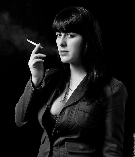 Smoking by Mark David Barrington