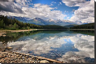 Patricia Lake, Jasper NP, Alberta, Canada by Teresa Zieba