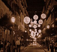 Christmas lights... by Tigersoul