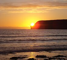 Sunset over Dunnet Head 3 by JaneMerson