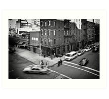 Streets of New York II Art Print