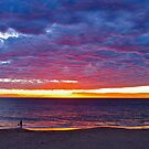 Red at night.. Shepherd delight.... Port Noarlunga by Ali Brown