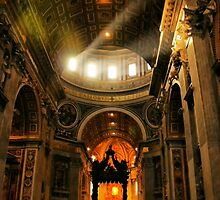 Light in Saint Peter's by Barbara  Brown
