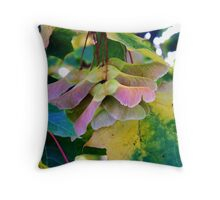 Fall Leaves 2 (Maple) Throw Pillow