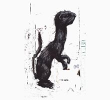 Giant Ferret by ROA by GraffArt Tees
