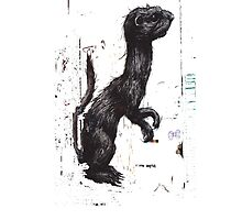 Giant Ferret, by ROA by GraffArt Tees