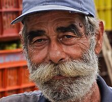 Faces of Greece . Vineyard farmer  portrait from  Kriti . Greece .. by Brown Sugar . F* Favorites: 1 Views: 538 .  Thank you dear friends !!! by © Andrzej Goszcz,M.D. Ph.D
