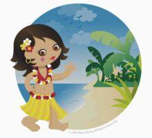 Hawaii girl by Macy Wong