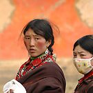 Tibetan people by Marieseyes