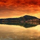 Kastoria...on Fire.... by Tania Koleska