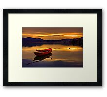 Red Boat... Framed Print