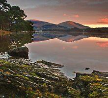 Derwent water at dawn by Shaun Whiteman