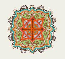 Zen Circle by Rebecca Rocha