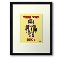 Tommy Want Wing-y Framed Print