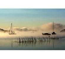Fog Rising Photographic Print