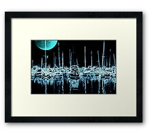 Neon Night ©  Framed Print