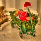 Christmastime at the Pennsylvania State Capitol by Shelley Neff