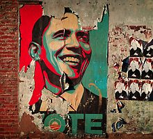 OBAMA 2010 by Don  Harris