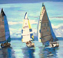 2007 -Port Hardy Sailing Regatta by Teresa Dominici
