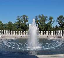 World War II Memorial by Nancy Richard