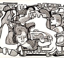 Childhood Dreaming by Maya Hiort Petersen