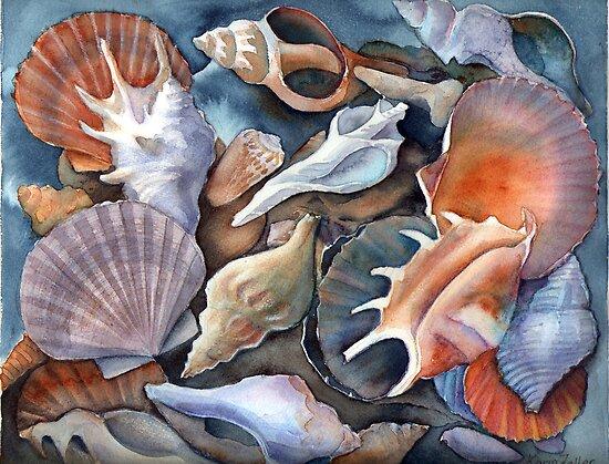 Box of shells 3 by Karin Zeller
