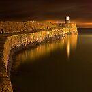 Pittenweem Pier by Don Alexander Lumsden (Echo7)